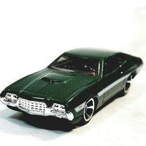 Hot Wheels Fast & The Furious Fenix's Green 1972 Ford Gran Torino Sport 1/64 Scale Diecast Car