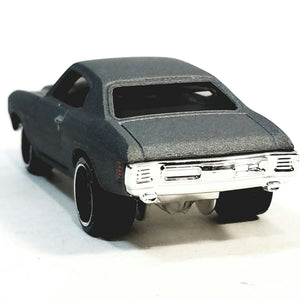 Hot Wheels Fast & The Furious Dom's Primer (Raw) 1970 Chevy Chevelle SS 1/64 Scale Diecast Car