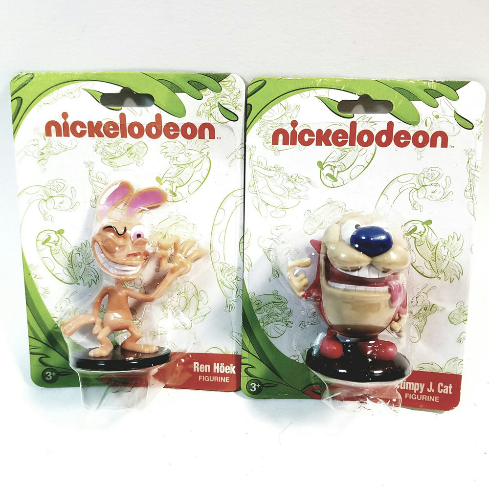 Nickelodeons Monogram Ren & Stimpy 2.75 PVC Action Figure Collectors Toy
