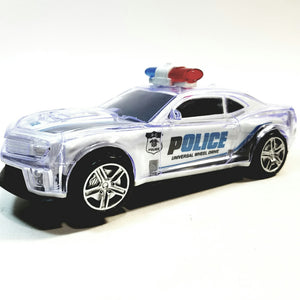 Copy of Aojia Toys Warrior Racing Pro Transforming Red SUV Lights & Sounds Bump & Go Vehicle
