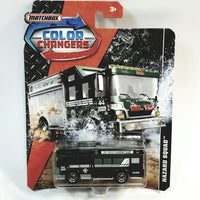 Matchbox Limited Color Changers Hazzard Squad Fire Rescue Unit 1/64 S Scale Diecast Car