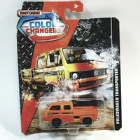 Matchbox Limited Color Changers Volkswagen Transporter 1/64 S Scale Diecast Car