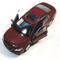"Welly. Toyota Camry Candy Apple Red 2 Door Hard Top 4.5"" Scale Diecast Car"