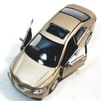 "Welly. Toyota Camry Tan 2 Door Hard Top 4.5"" Scale Diecast Car"