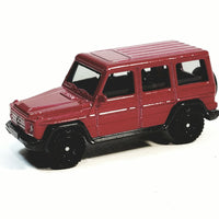 Matchbox Limited Candy Apple Red 2015 Mercedes Benz G-Class Luxury Off-Road 1/64 S Scale Diecast Car