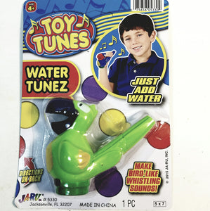 Toy Tunes Green Macaw Water Tunes Bird Instrument Toy for Kids