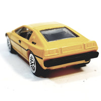 Hot Wheels Exoctics Canary Yellow Lotus Esprit S1 Hardtop Convertible 1/64 Scale Diecast Car