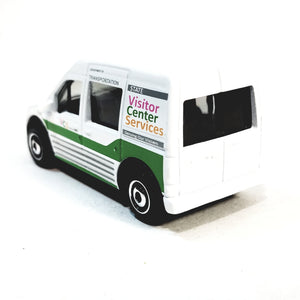 Matchbox Limited White 2010 Ford Transit State Visitor Center Services 1/64 S Scale Diecast