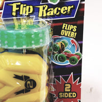 Speed Shots Fire Yellow & Green Wheels #2 Friction Power 2 Sided Flip Racer