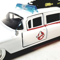 Jada Metals Hollywood Rides 1959 Cadillac Ghostbusters Ecto 1 Ambulance 1/32 Die-Cast Vehicle