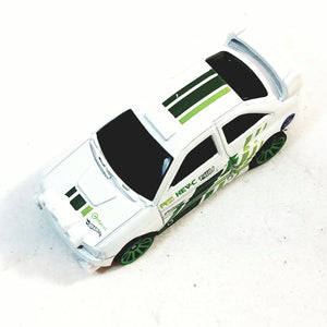 Hot Wheels Night Turnerz White Colucci Ford Escort 1/64 Scale Diecast Car