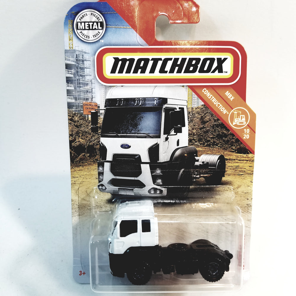 Matchbox Limited Construction 2013 Ford Cargo Truck 1/64 S Scale Diecast Trailer