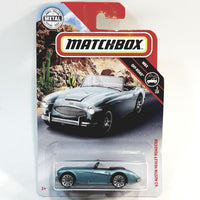 Matchbox Limited Off Road 1963 Powder Blue Austin Healey Roadster 1/64 S Scale Car Diecast