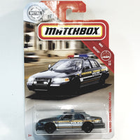 Matchbox Limited Rescue 2006 Ford Crown Victoria Police K-9 Unit 1/64 S Scale Car Diecast