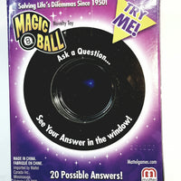 Mystery Magic 8 Ball Retro Toy (Ask Question-Shake-Get Answer) Mattel Toys