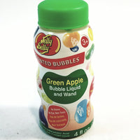 Jelly Belly Green Apple Scented Bubbles With Plastic Wand 4 oz Bottle