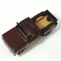 Matchbox 1975 Brown Chevy Stepside Pickup 1/64 Scale Diecast Truck