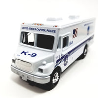 Showcasts Collectibles United States Capitol Police K-9 Special Unit MT-55 Freightliner Van 1/87 HO Scale Diecast