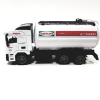 TY White Oil Tanker Delivery Truck 1/64 Diecast Vehicle