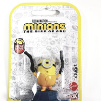 "Minions The Rise of Gru Stuart Holding Blasters 2.5"" Action Figure"