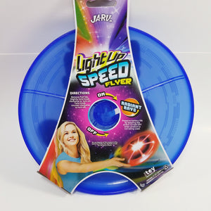 "LightUp Navy Blue  Speed Flyer 9"" Round Frisbee with Lights"