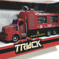 SF Toys Red Fire Rescue EngineTruck 1/48 O Scale R/C Fully Functional 27MHZ Vehicle