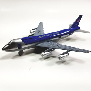 "SF Toys Boeing 707 Air Force One 1962 Presidential Aircraft 7.5"" Diecast Plane"