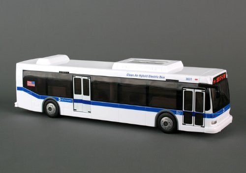 Daron NYC MTA M4 Hybrid Bus Replica 1/50 0 Scale 11