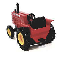 "SF Toys Red Power Farmall Tractor 4"" Ride-On Farm Vehicle 1/38 O Scale Diecast"