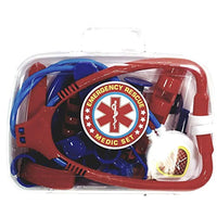 Heroes Emergency Rescue Medic Paramedic/Nurse/Doctor Plastic 8 Piece Playset