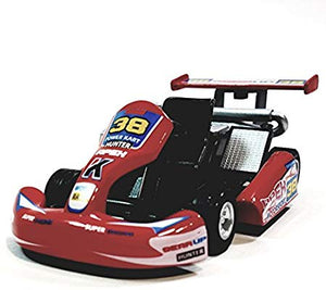 "Kinsmart Red #38 Hunter Motorsport Turbo Go Kart 5"" Diecast Vehicle"