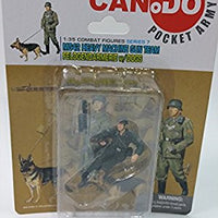 Can.Do/Dragon Pocket Army MG42 Heavy Machine Gun Team w/Dogs 1/35 Scale Model...