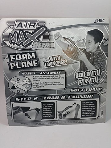 Air Max Ultra Soft Foam Plane With Launcher Airplane Flying Toy Kit