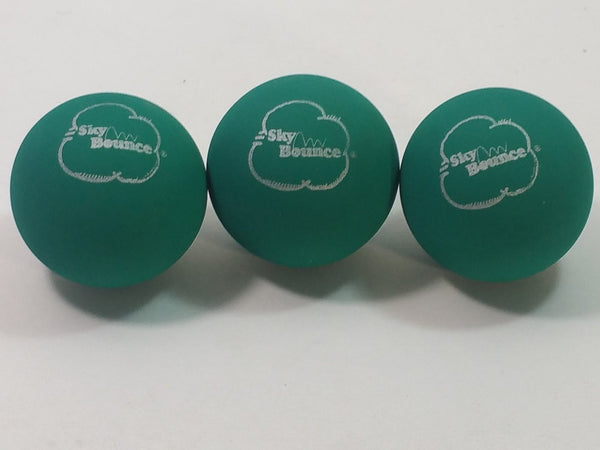 SKY BOUNCE Green Handball/Racquetball Set Of 12 (1 Dozen) Racket Ball