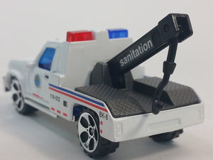DARON New York City SANITATION DEPT Rescue Tow Truck 1/64 S Scale Diecast Wre...