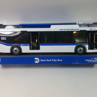 "Daron NYC MTA M4 Hybrid Bus Replica 1/50 0 Scale 11"" Orion VII"