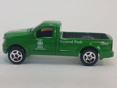 DARON New York City Central Park 4X4 Pickup Truck 1/64 S Scale Parks Dept Die...