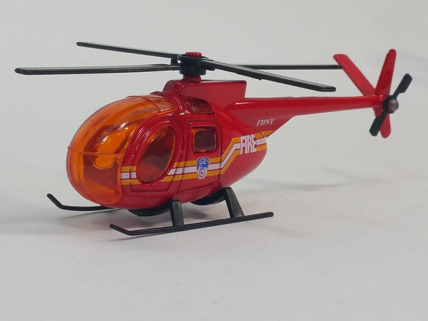 Daron FDNY Fire Dept Rescue Helicopter 1/64 S Scale New York City Diecast Car