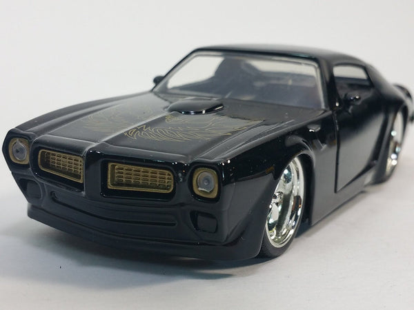 Jada Bigtime Muscle Black 1972 Pontiac Firebird 1/32 Scale Diecast Car