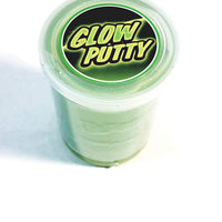 Flarp Radioactive Green  Glow in The Dark Large Noise Putty Make 6 Awful Fart Sounds Gag 105g in 3.7oz Container of Goop