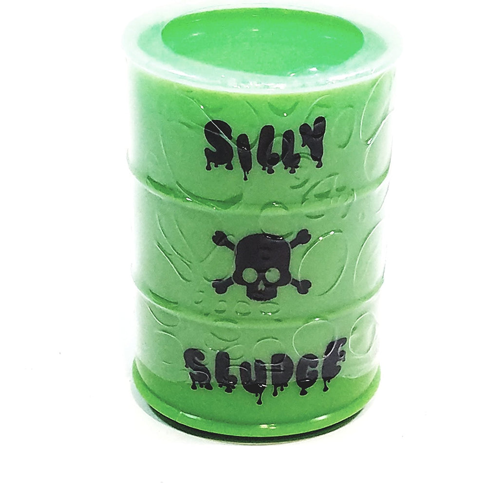 Dr Whackos Mad Lab Radioactive Green Silly Sludge/Slime Container