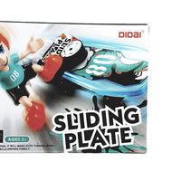 Didai Sliding Plate Stunt Bump & Go Skateboarder Battery Operated Toy
