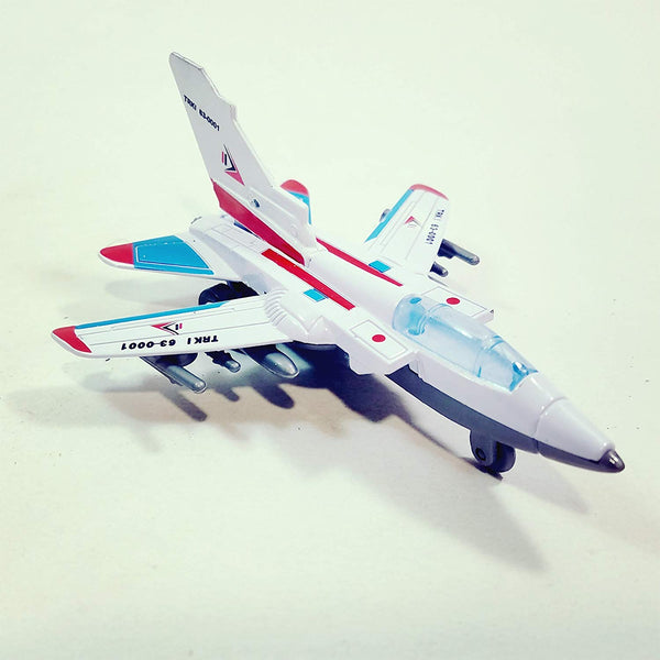 "REAL WHEELZ TRK-1 63-0001 Fighter Jet Plane 6"" Military Airplane 6"" Diecast Model"