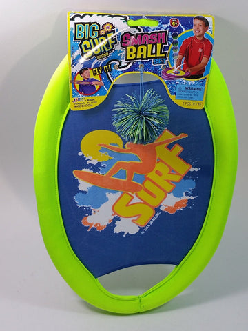 BIG SURF Green Smash Ball 3 In 1 Toy Frisbee