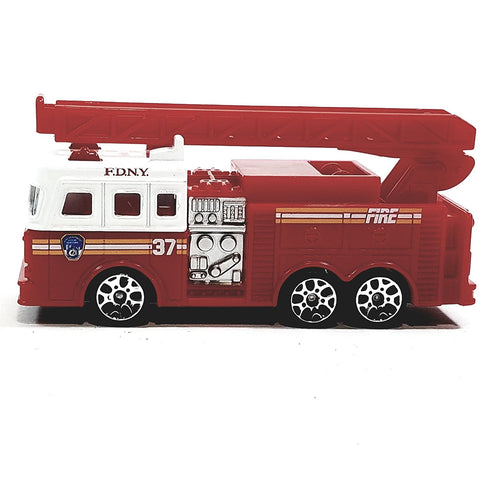 Daron FDNY Fire Dept Ladder 37 Fire Engine 1/64 S Scale NYC Diecast Truck