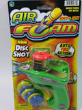 Air Foam Disc Shot Foam Blaster Toy Dart Gun With 9 Soft Foam Discs