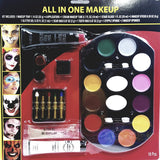 Amscan All In One Complete 18 Piece Makeup Kit Toxic Safe