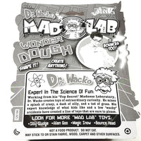 Dr Wackos Mad Lab Wonder 2 Color Dough Yellow & Pink 25g Putty