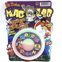Dr Wackos Mad Lab Wonder 2 Color Dough Green & Orange 25g Putty