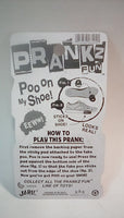 PRANKZ Fake Poo On My Shoe Realistic Looking Doo Doo In Fun Gag Toys